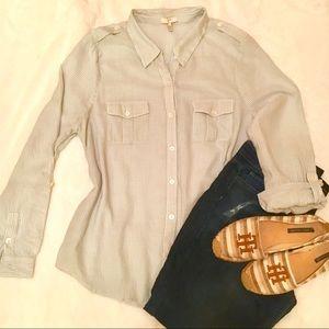 Joie Blue button down shirt